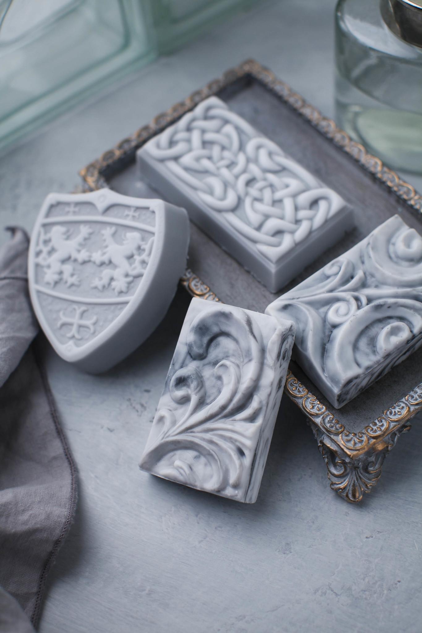 Подарочное мыло ручной работы Щит