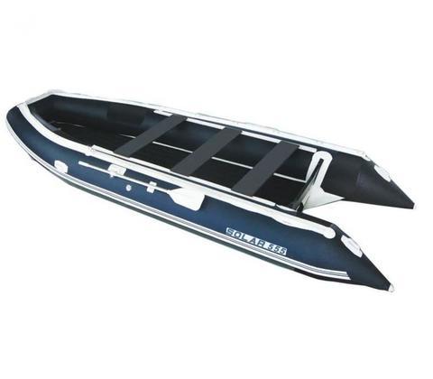 Надувная ПВХ-лодка Солар Максима - 555 К (синий)
