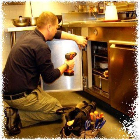 Установка уплотнителей на торговые и профессиональные холодильники