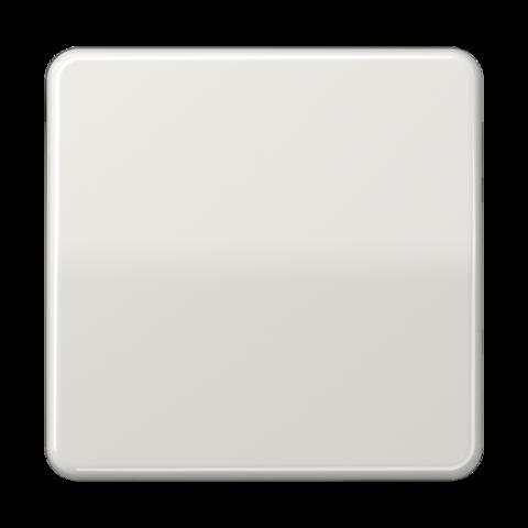 Выключатель одноклавишный. 10 A / 250 B ~. Цвет Блестящий слоновая кость. JUNG CD. 501U+CD590BF