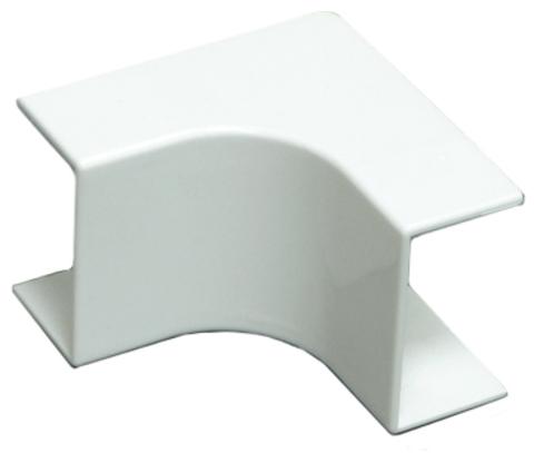 RMI Угол внутренний плавный стандарт TIA 20/10. Цвет Белый. Ecoplast (ЭКОПЛАСТ). 72101R