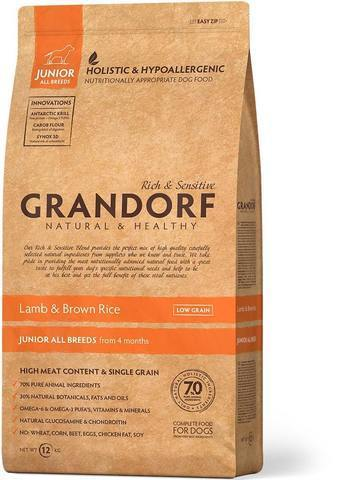Grandorf Lamb & Brown Rice Junior All Breeds