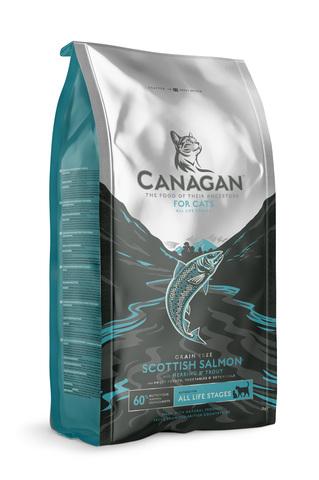 Сухой корм Canagan Grain Free Scottish Salmon для кошек