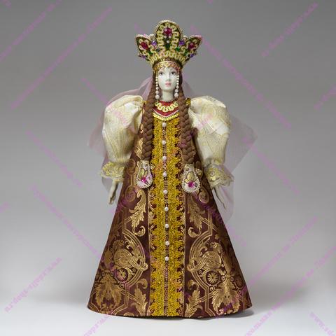 Кукла в праздничном русском костюме