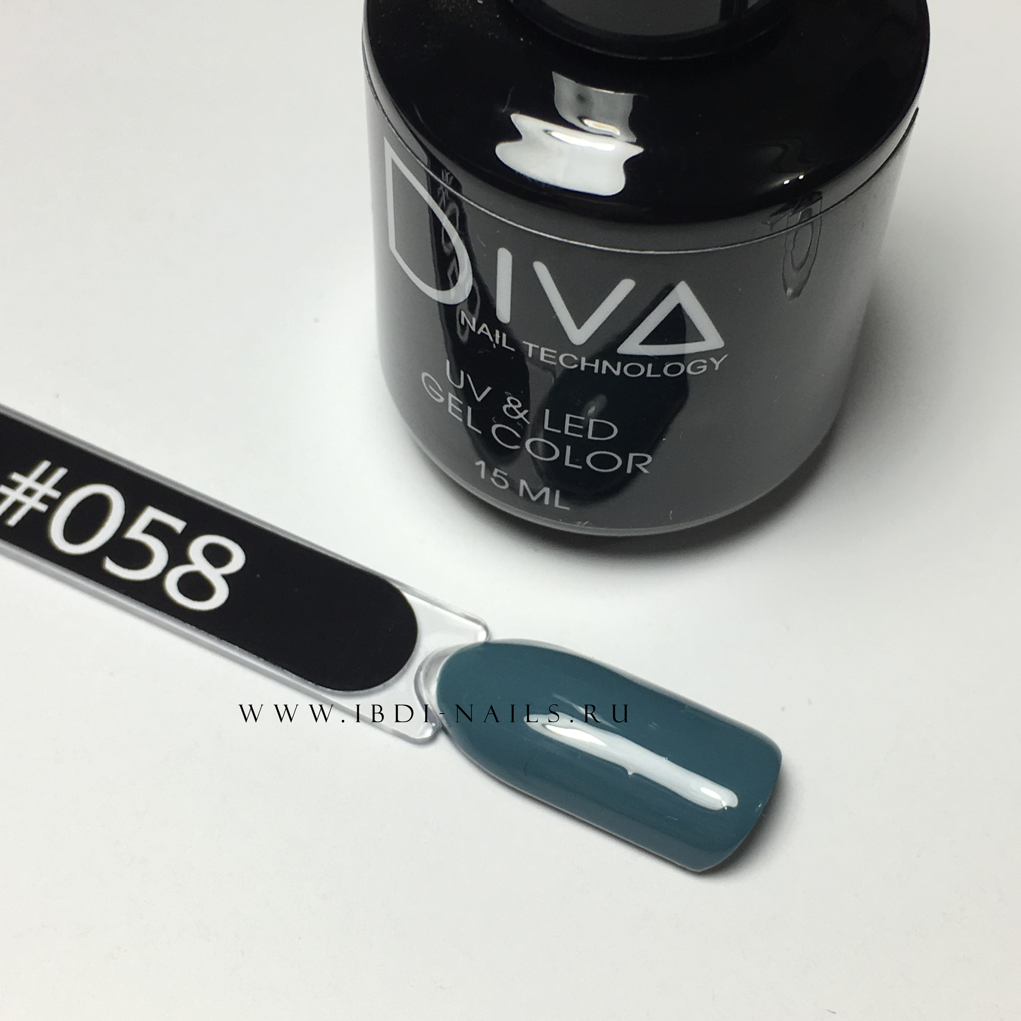 Гель-лак DIVA 058 15мл