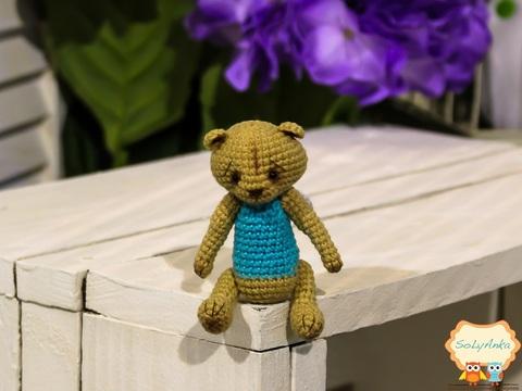 Ведмедик-ангел бірюзовий