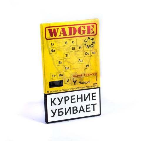Табак WADGE CARBON Yabloni (Яблоко) 100 г