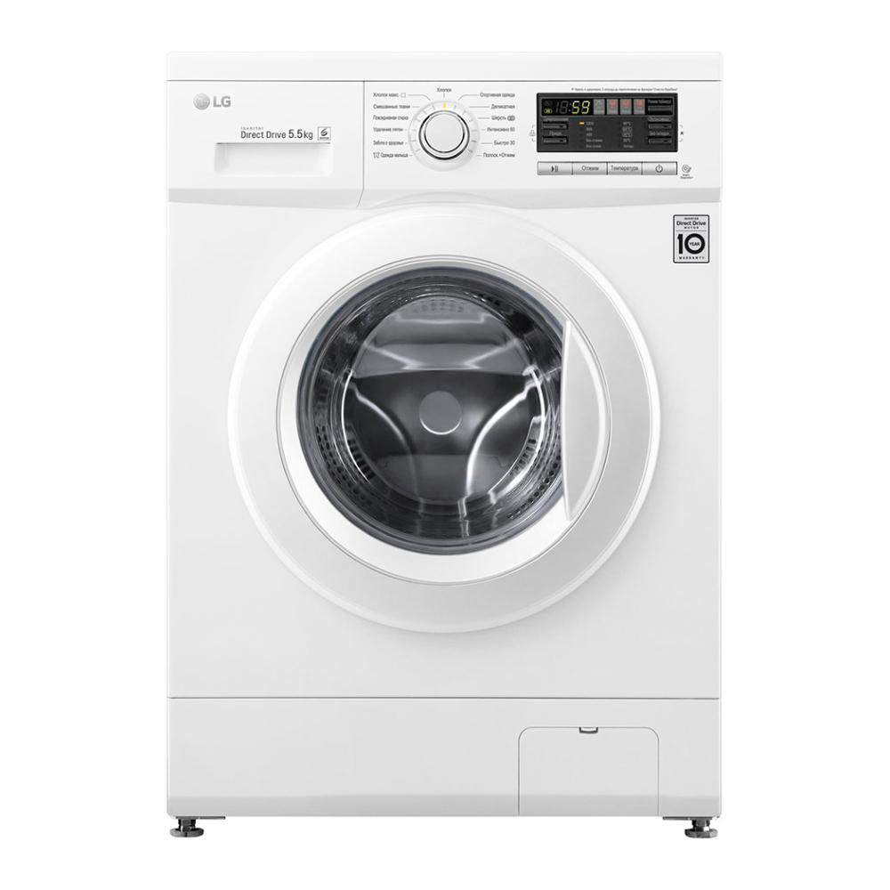 Узкая стиральная машина LG с системой прямого привода F1296MD0 фото