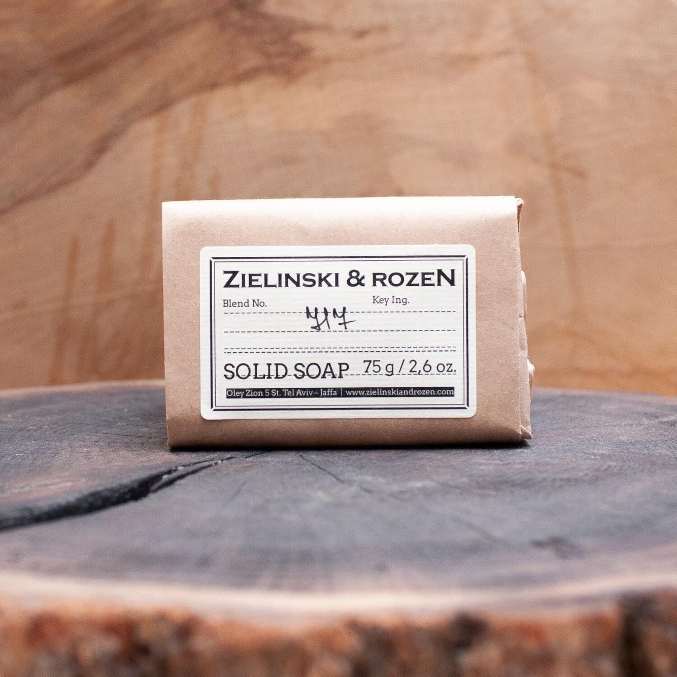 Твёрдое мыло 717 ZIELINSKI & ROZEN (75гр)