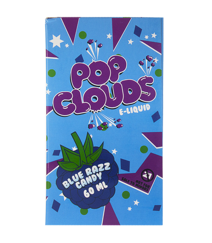 Pop Clouds Pop Clouds: Жидкость Blue Razz Candy, 60 мл