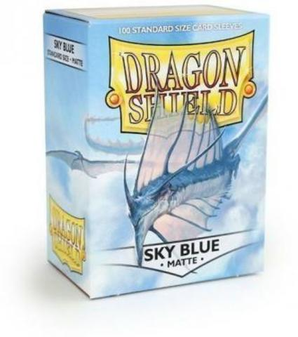 Протекторы Dragon Shield матовые Sky Blue (100 шт.)