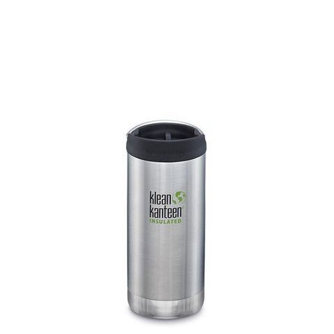 Термокружка Klean Kanteen TKWide Cafe Cap 12oz (355 мл) Brushed Stainless