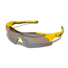 Очки солнцезащитные 2K S-14058-B  (жёлтый / дымчатые зеркальные)