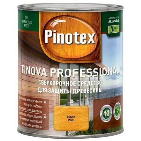 Pinotex Tinova Цветной антисептик для профессиональной защиты