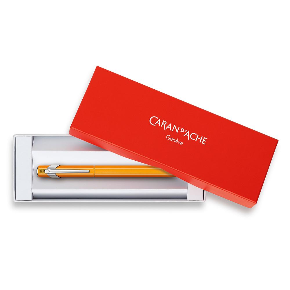 Carandache Office 849 Fluo - Yellow Green Fluo, перьевая ручка, M