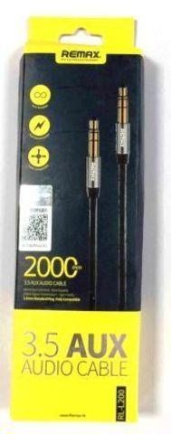 Кабель ReMax 3.5 AUX audio cable 2м RL-L200