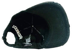 Женская кепка с козырьком Dsquared2 Supset on the Beach 65656265-Black.