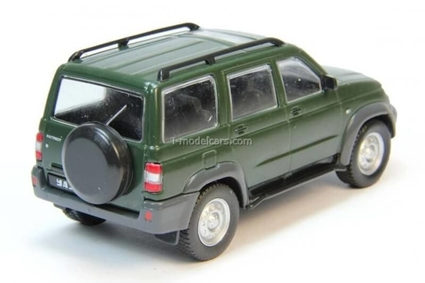 UAZ-3163 Patriot dark green 1:43 DeAgostini Auto Legends USSR #182