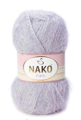 Пряжа Nako Paris 3079 сиреневый