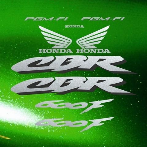 Набор виниловых наклеек на мотоцикл HONDA CBR 600 F 2002