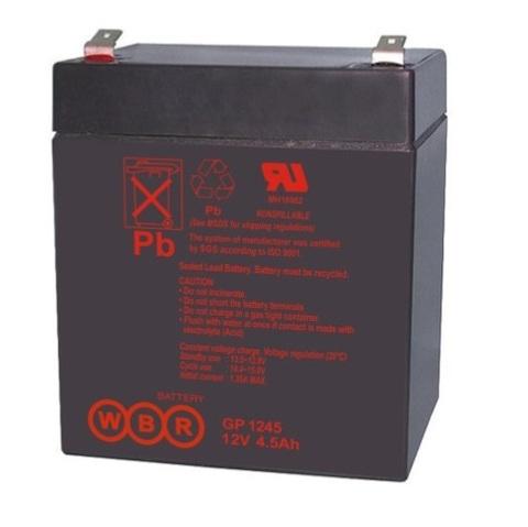 Аккумулятор WBR 4.5 А/ч   GP 1245