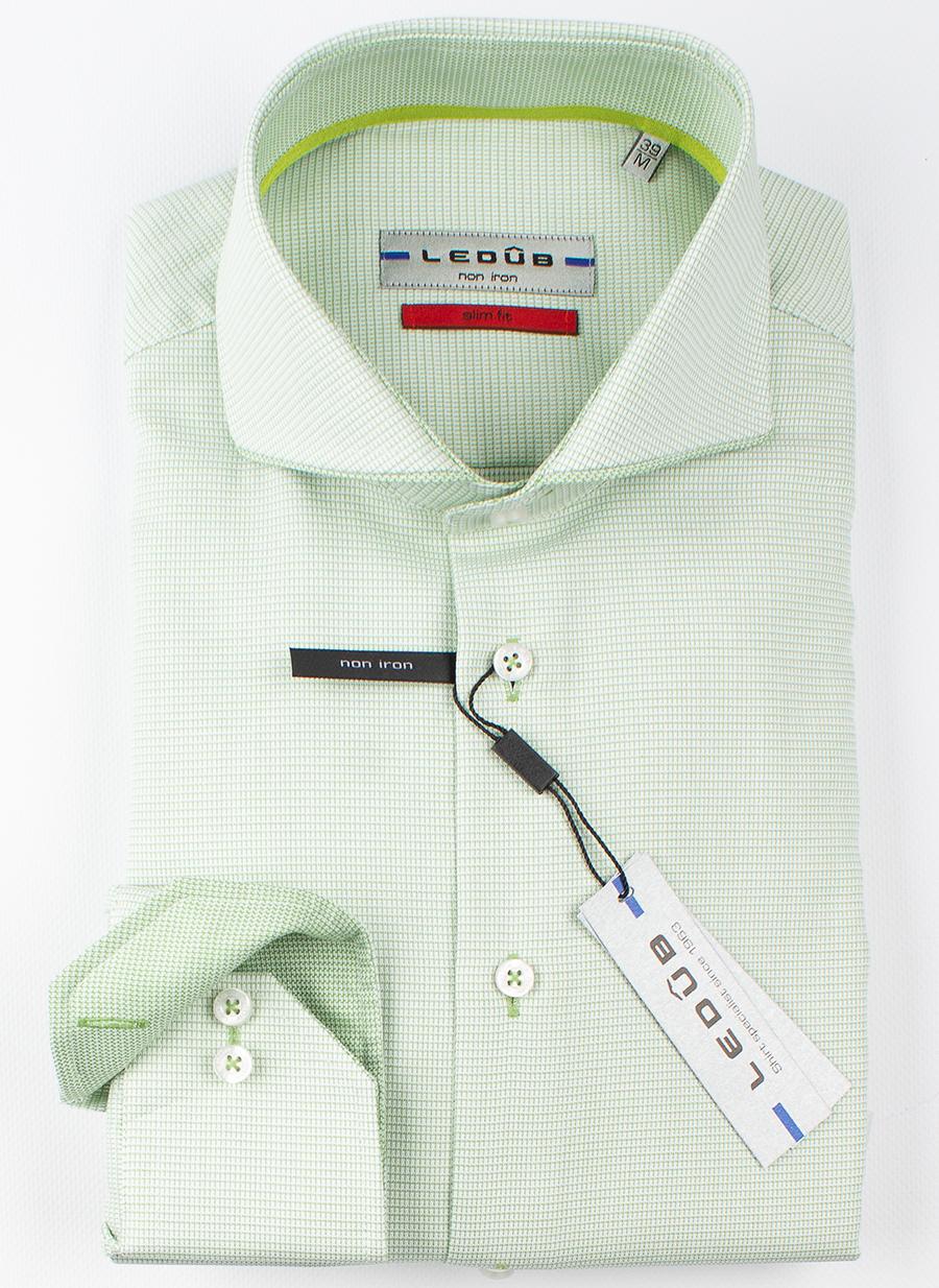 Рубашка Ledub slim fit 0137774-530-530-540