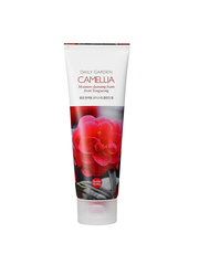 Очищающая пенка с камелией, HOLIKA HOLIKA, Daily Garden Camelia Moisture Cleansing Foam from Tongyeong 120мл