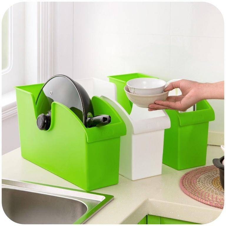 Кухонный органайзер на колесиках 24х40,5х11,5 см фото