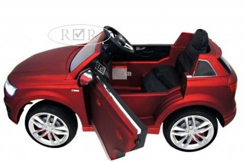 Электромобиль Rivertoys Audi Q7 QUATRO красный глянец