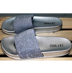 Шлепанцы женские J.B.P. Shoes Nu1213 Silver.