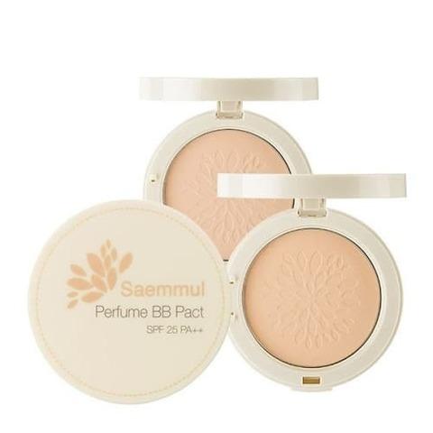 Пудра ароматизированная THE SEAM Sammul Perfume BB Pact Cover Beige SPF 25 PA++ 20 гр