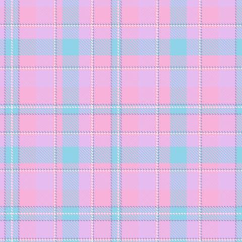 Шотландский тартан розово-голубой. (Дизайнер Irina Skaska)