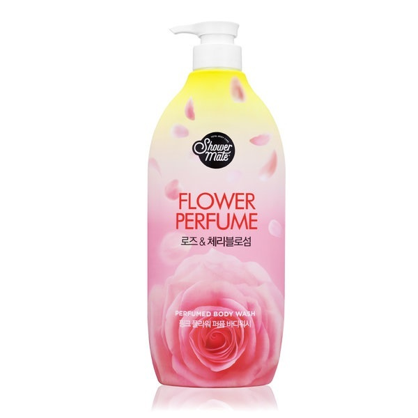 Гель для душа Роза Shower Mate Flower Perfume Body Wash 900мл