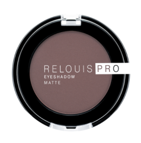 RELOUIS Тени Pro Eyeshadow Matte тон 13, ice coffee