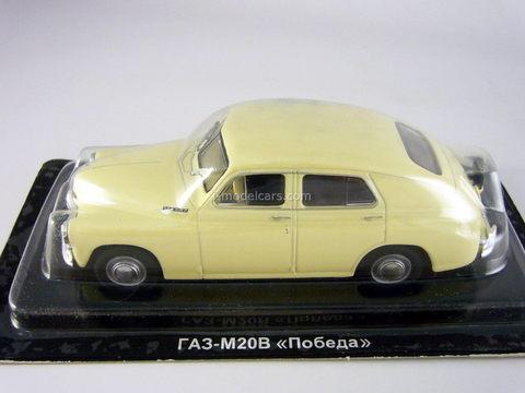 GAZ-M20V Pobeda beige 1:43 DeAgostini Auto Legends USSR #2