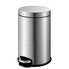 Ведро для мусора Weltwasser WW Erfie MT 5L матовая сталь