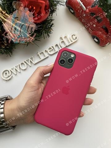 Чехол iPhone 11 Pro Max Silicone Case /pomegranate/ сочный гранат original quality