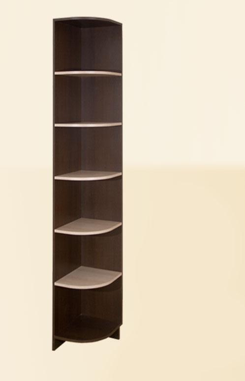 Диана-4 секц. № 04 Угловое окончание (венге/молочный дуб)
