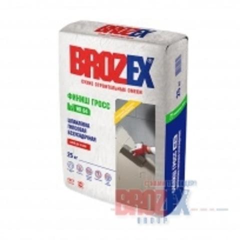 Шпатлевка Brozex WR 65 Финиш Гипс 17 кг