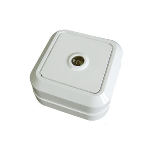 Розетка TВ простая (0-2400 Гц,
