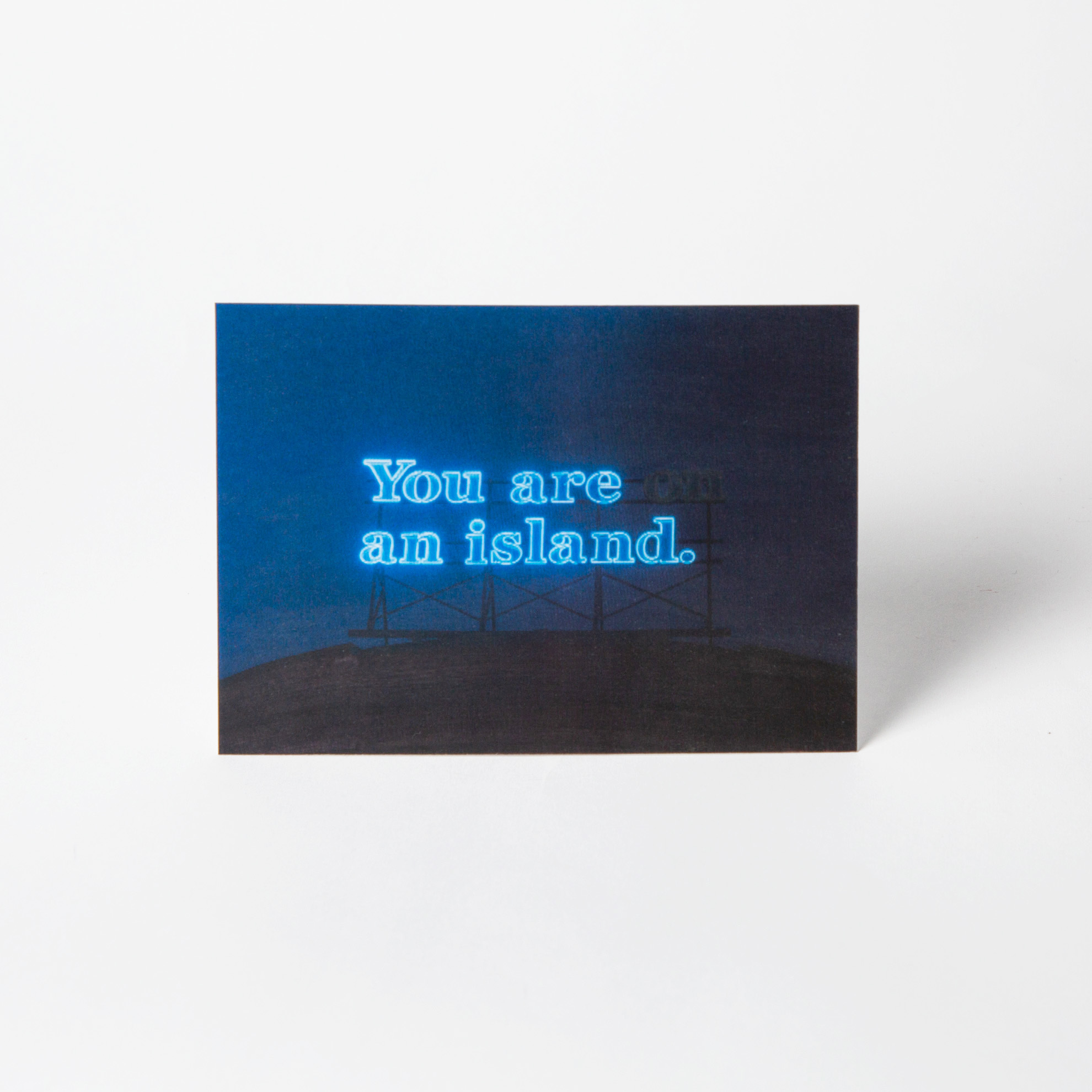 3D-открытка You are (on) an island