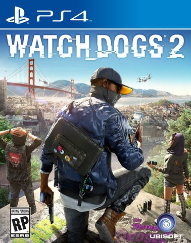 PS4 Watch Dogs 2 (русская версия)