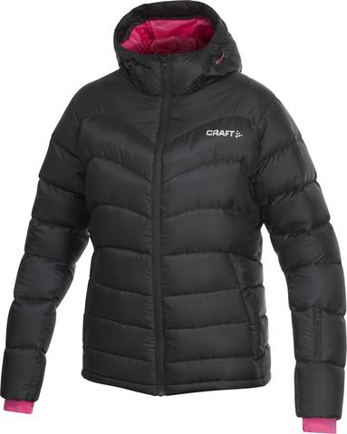 Куртка Craft Down женская чёрная