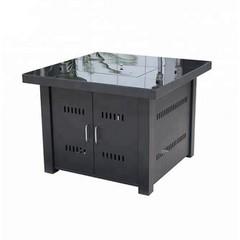Газовый уличный стол - камин MasterLeto МЛ6 стекло
