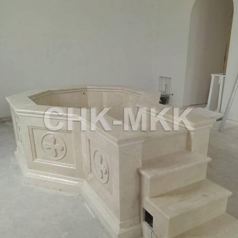 Купель для Свято Троицкого Кафедрального Собора г. Покровска