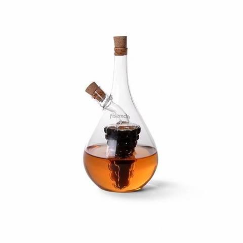 9441 FISSMAN Ёмкость для жидких специй, масла 2в1 50 мл / 500 мл,  купить