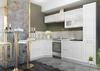 Модульный кухонный гарнитур «Вита» 2850/1650 (белый), ЛДСП/МДФ, ДСВ Мебель