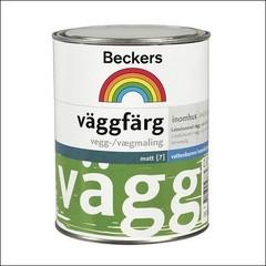 Краска для стен и потолков BECKERS VAGGFARG База С (Прозрачный)