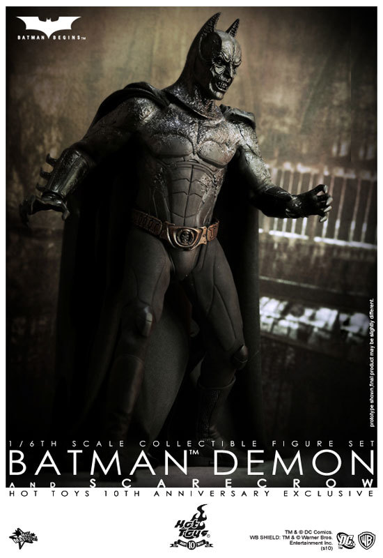 Batman Begins (10th Anniversary Exclusive) - Demon Batman & Scar
