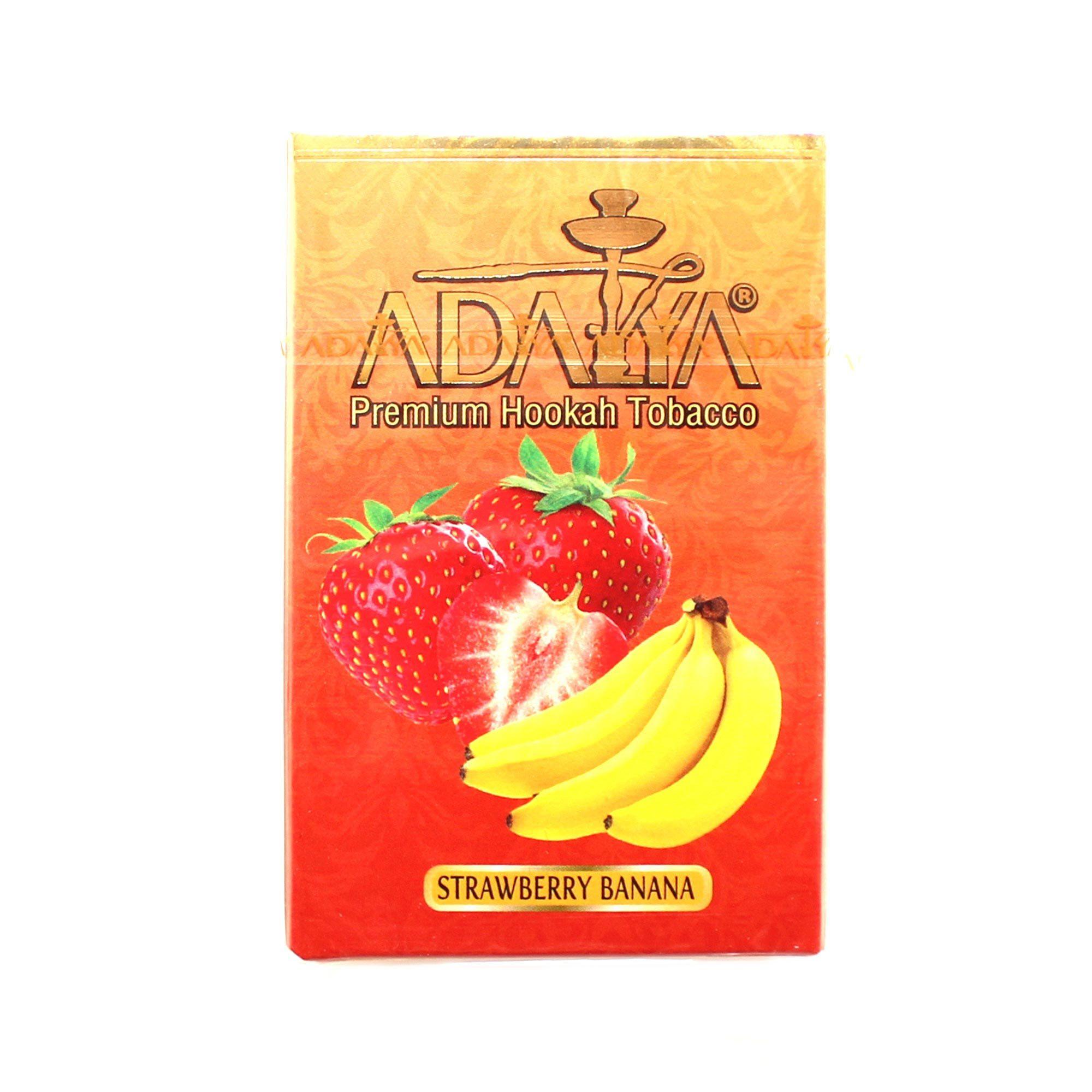 Табак для кальяна Adalya Strawberry Banana 50 гр.